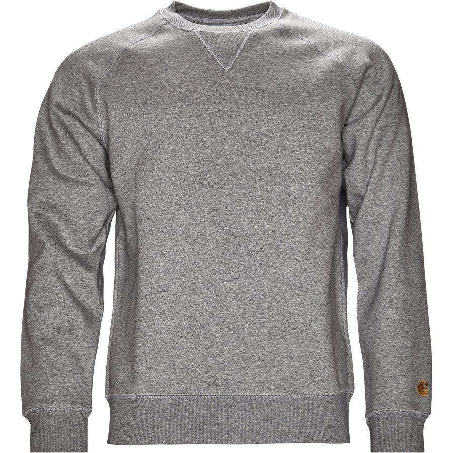 CHASE SWEAT I024652 - Chase Sweat - Sweatshirts - Regular - GREY HTR/GOLD - 1